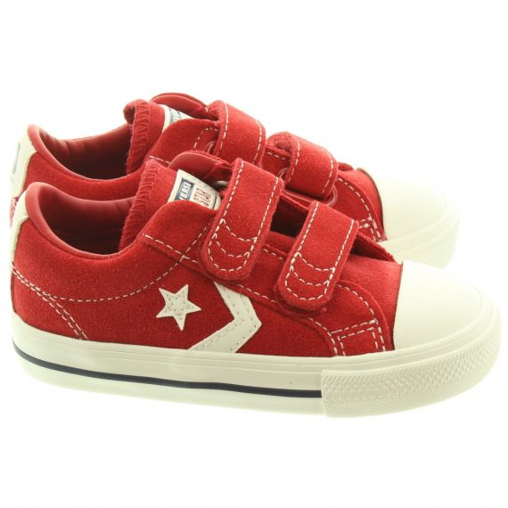 CONVERSE Starplayer 2 Velcro Shoes In Red Multi