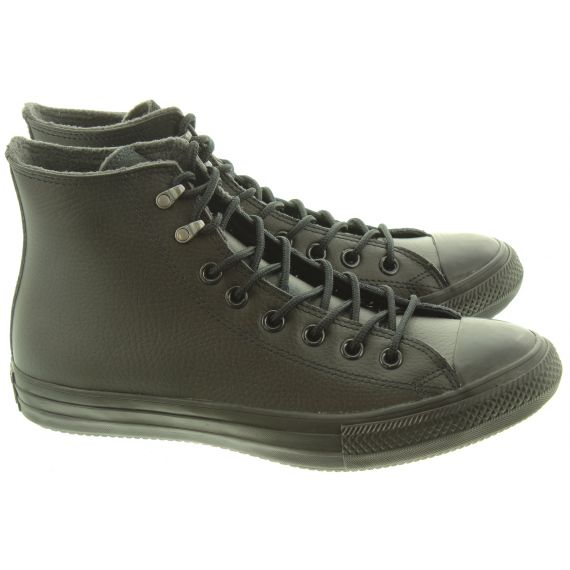 CONVERSE Mens Winter Hi Leather Boots In Black
