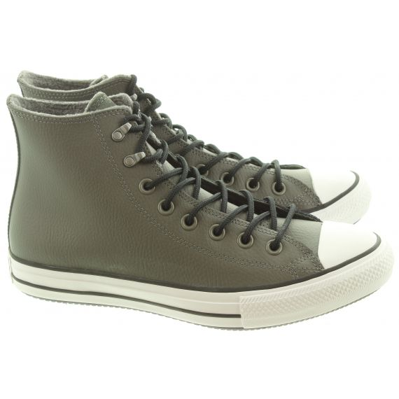 CONVERSE Mens Winter Hi Leather Boots In Grey