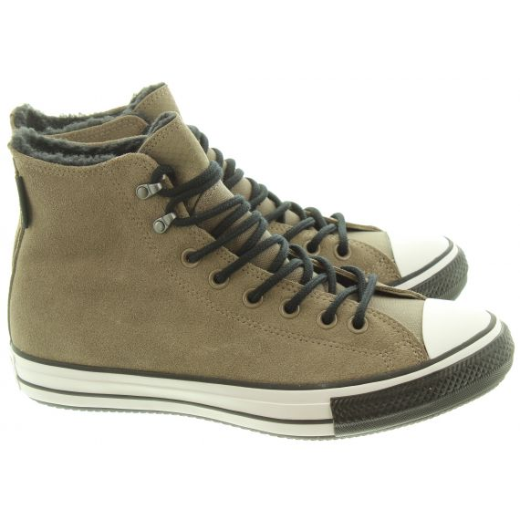 CONVERSE Mens Winter Hi Suede Boots In Taupe