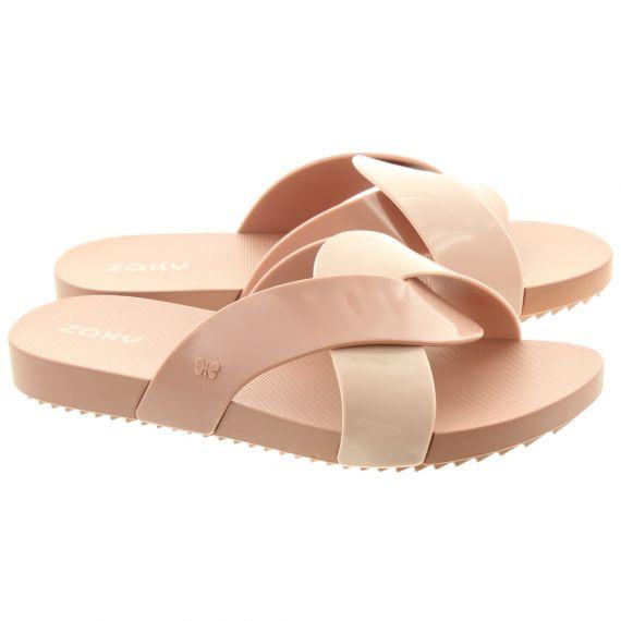 IPANEMA Womens Check Slide Sandals In Blush