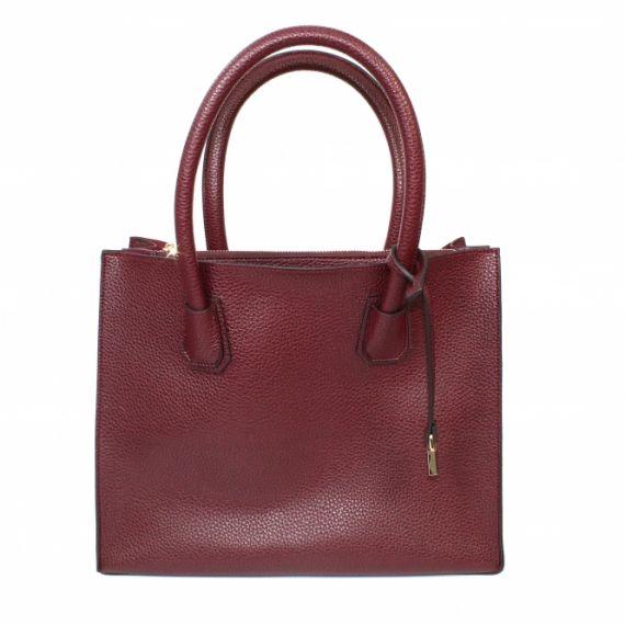 LUNAR Ladies ZLW001 Canberra Bag In Burgundy
