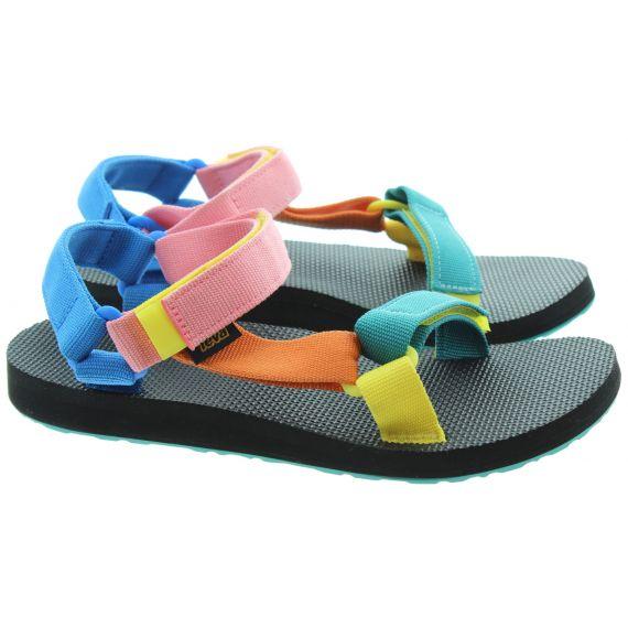 TEVA Ladies Universal Sandals in Multicolour