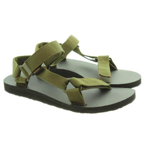 TEVA Mens Original Universal Sandals In Dark Olive