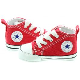Converse Crib All Star Boots in Red in Red