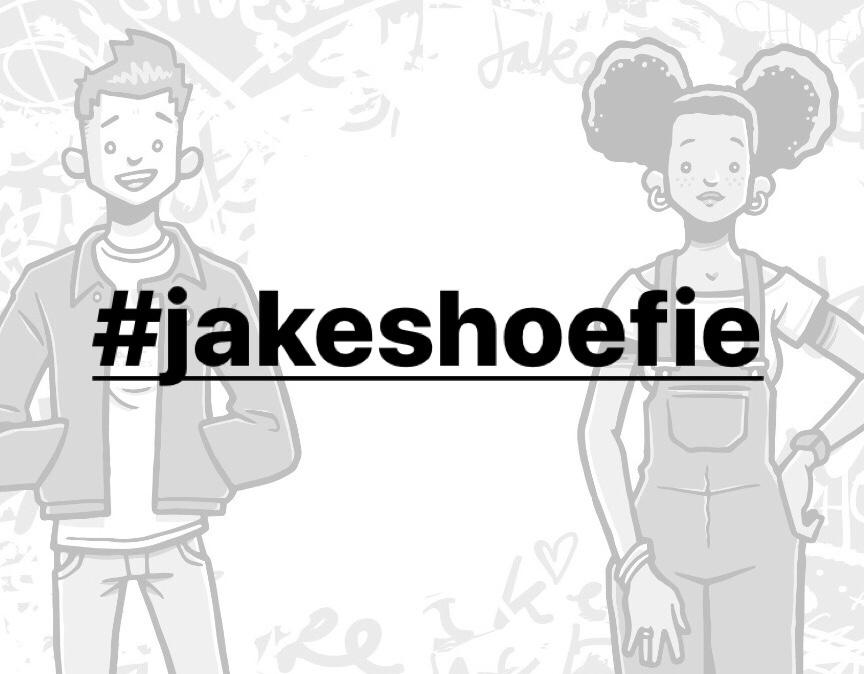 Introducing #jakeshoefie