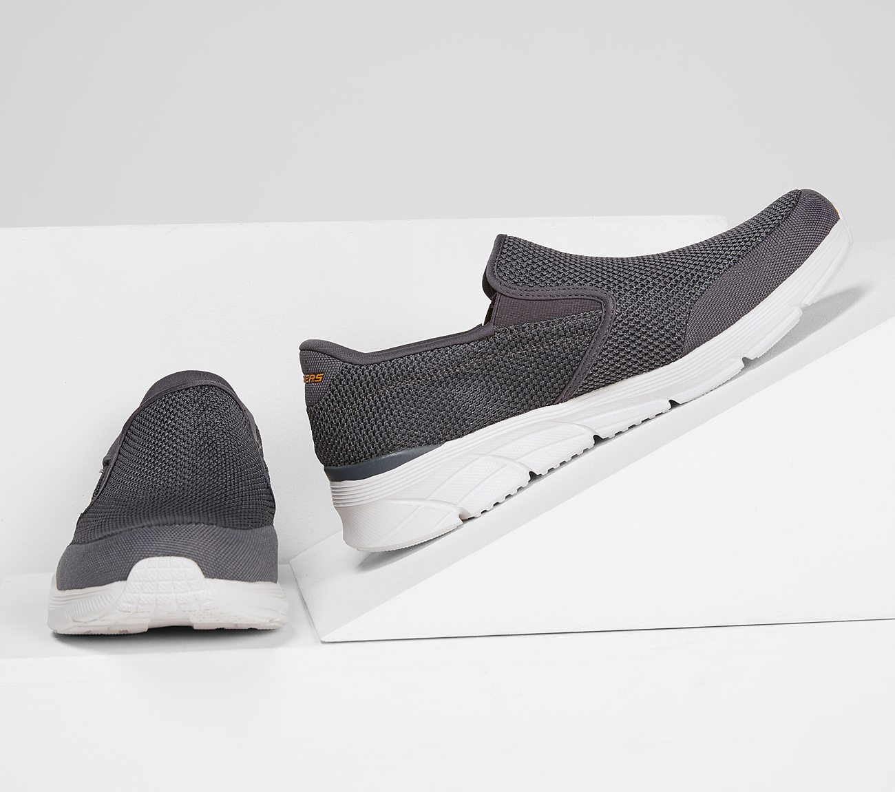 Skechers – they're machine washable, breathable, practical and super comfy