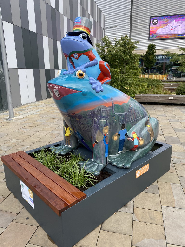Stockport's Gigantic Leap Frog Trail Is Back!